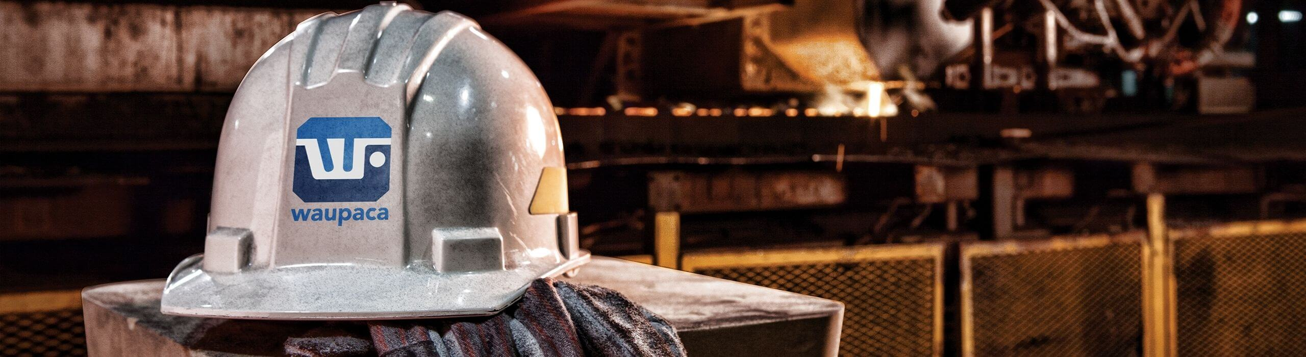 Waupaca Foundry hard hat