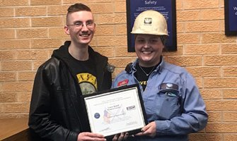Waupaca Foundry Foreman Receives Patriot Award