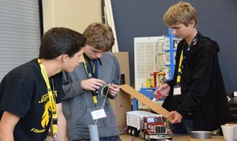 Students compete for cash prizes; learn about local career opportunities
