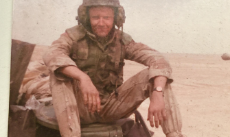 Wade Gray, Army Specialist (E-4) in Saudi Arabia served from 1990-1994.