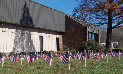 Veterans Honored at Waupaca Foundry