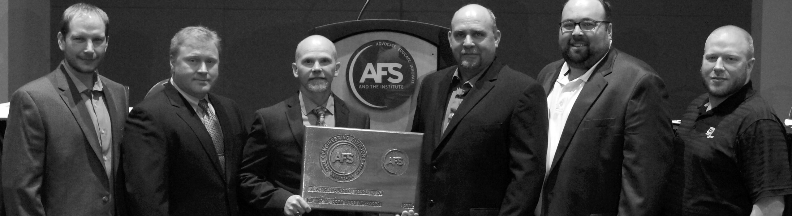 Waupaca Foundry team Earns Industry Awards for Metalcasting Excellence